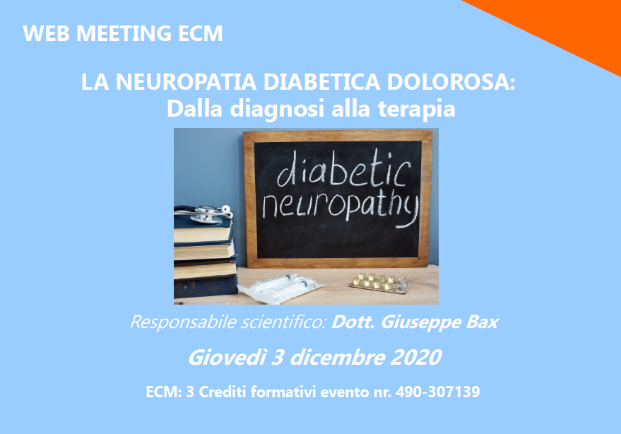 Course Image La Neuropatia Diabetica dolorosa: Dalla diagnosi alla terapia