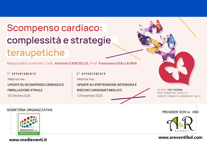 Course Image Scompenso cardiaco: complessità e strategie terapeutiche