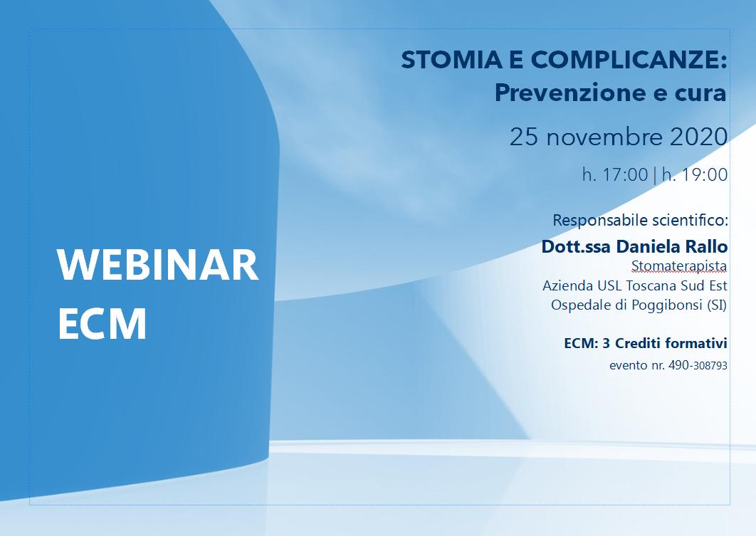 Course Image STOMIA E COMPLICANZE: Prevenzione e cura