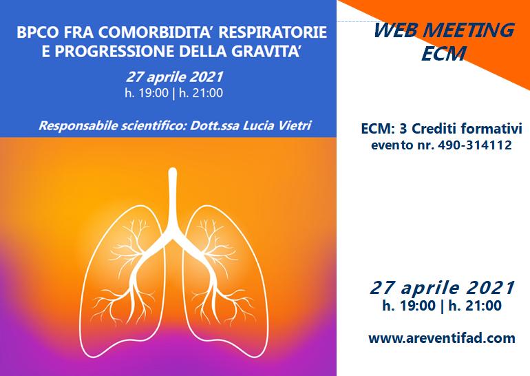 Course Image BPCO FRA COMORBIDITA' RESPIRATORIE E PROGRESSIONE DELLA GRAVITA'