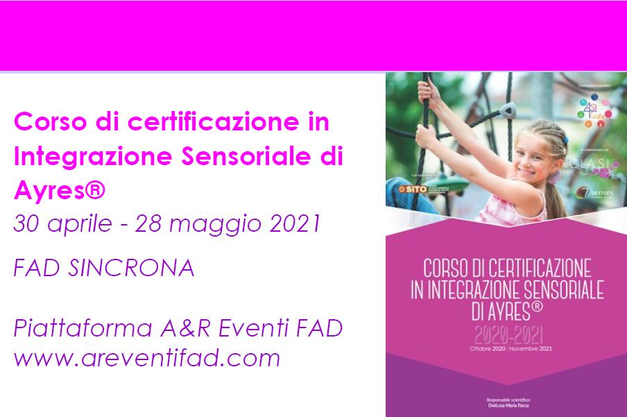 Course Image Corso di certificazione in Integrazione Sensoriale secondo Ayres® - VALUTAZIONE COMPLETA IN ASI