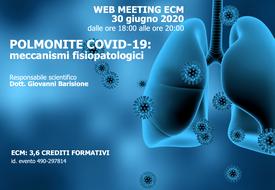 Course Image Polmonite Covid-19: meccanismi fisiopatologici