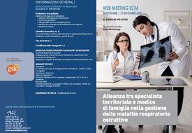 Course Image Alleanza tra specialista territoriale e medico di famiglia nella gestione delle malattie respiratorie ostruttive