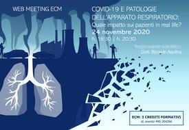 Course Image COVID-19 E PATOLOGIE DELL'APPARATO RESPIRATORIO: Quale impatto sui pazienti in real life?