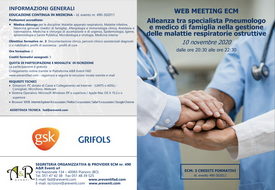 Course Image Alleanza tra specialista Pneumologo e medico di famiglia nella gestione delle malattie respiratorie ostruttive
